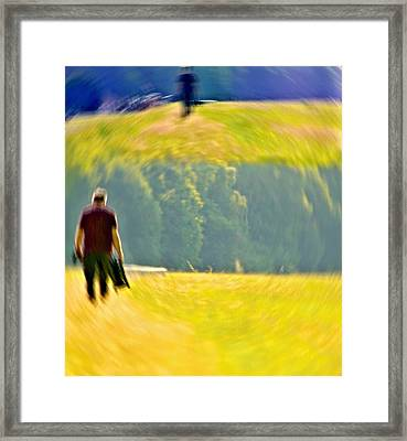 Mein Weg Framed Print