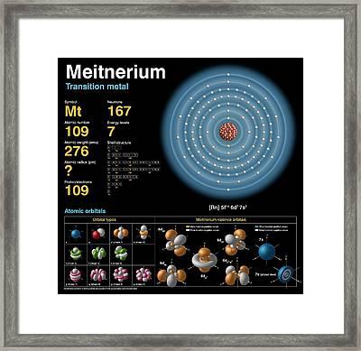 Meitnerium Framed Print by Carlos Clarivan