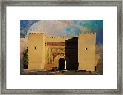 Meknes Framed Print by Catf