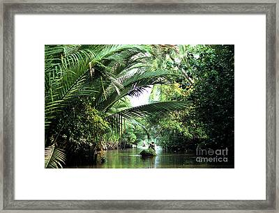 Mekong Delta Backwater 01 Framed Print