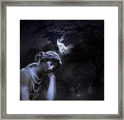 Melancholia  Framed Print
