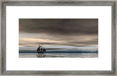 Melancholy Waters Framed Print