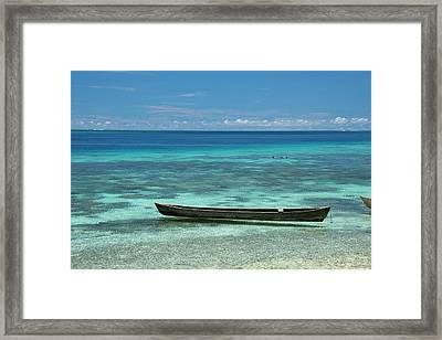 Melanesia, Solomon Islands, Santa Cruz Framed Print