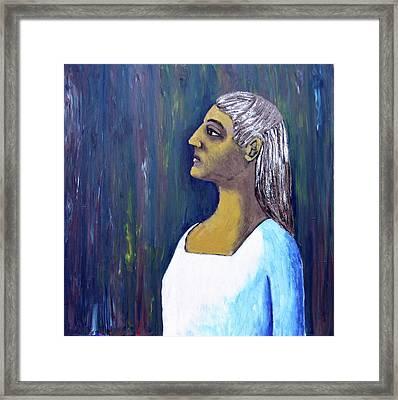 Melanie Framed Print