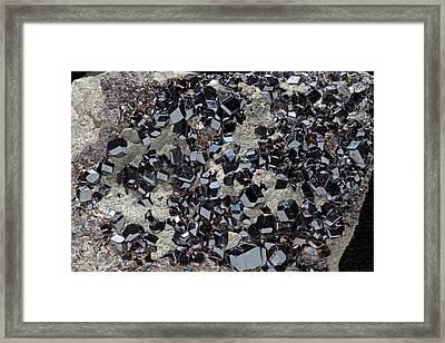 Melanite I Framed Print