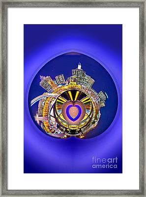 Love Melbourne 2 Framed Print by Az Jackson