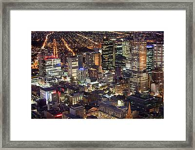 Melbourne Framed Print by Ashley Cooper