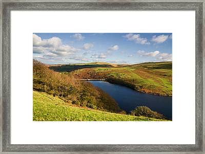 Meldon Reservoir On Dartmoor Framed Print