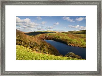 Meldon Reservoir On Dartmoor Framed Print