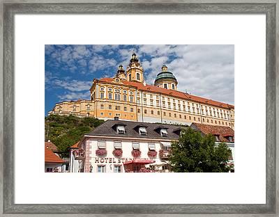 Melk Abbey Framed Print by Dennis Cox WorldViews