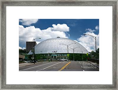 Mellon Arena Pittsburgh Pa Framed Print by Amy Cicconi