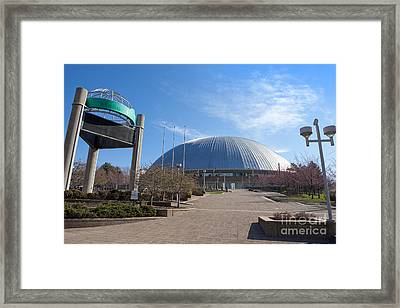 Mellon Arena Pittsburgh Pa Framed Print by Sharon Dominick