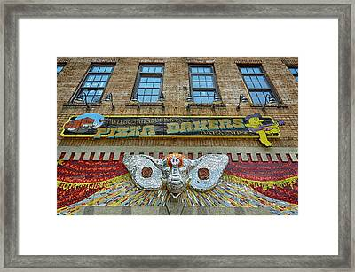Mellow Mushroom Tuscaloosa Style Framed Print by Ben Shields