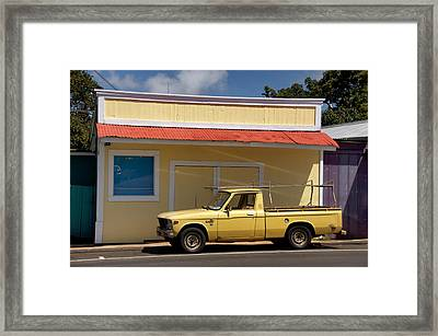 Framed Print featuring the photograph Mellow Yellow by Trever Miller
