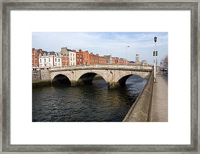 Mellows Bridge In Dublin Framed Print