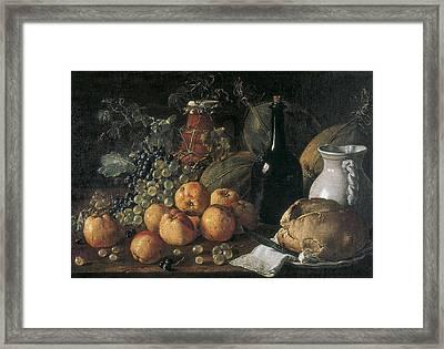 Mel�ndez O Men�ndez, Lu�s 1716-1780 Framed Print by Everett