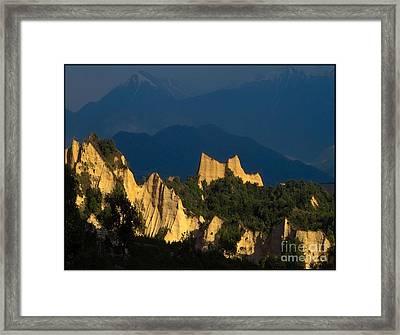 Melnik Pyramids Mp1 Framed Print by Pemaro