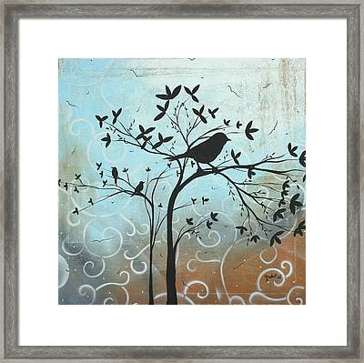 Melodic Dreams By Madart Framed Print by Megan Duncanson