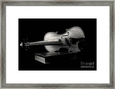 Melodiously Poetic Framed Print