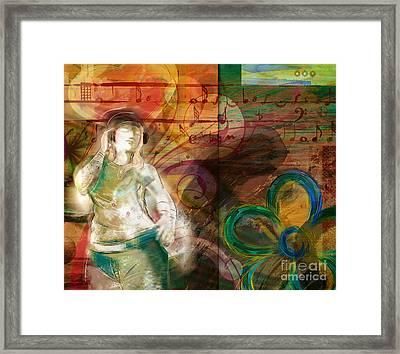Melody Framed Print by Bedros Awak