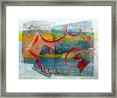 Melody In My Mind Framed Print by Asha Carolyn Young