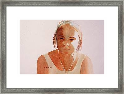 Framed Print featuring the painting Melody by John  Svenson