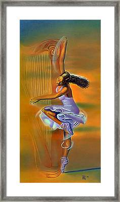 Melody Meridian Framed Print by  Fli Art