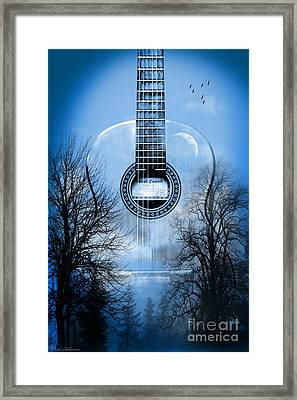 Melody Mystic Night  Framed Print