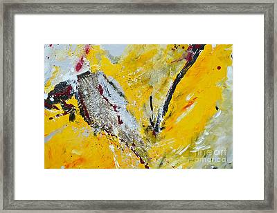 Framed Print featuring the painting Melody Of Passion by Ismeta Gruenwald