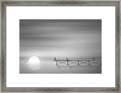 Melody Of Twilight Framed Print