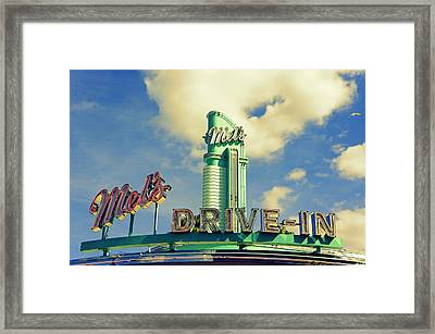 Mel's Framed Print by Laurie Perry