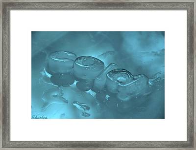 Melt My Mind Framed Print
