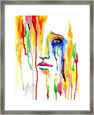 Melting Dreams Framed Print by P J Lewis