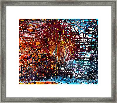 Melting Pot Framed Print by Laura Barbosa