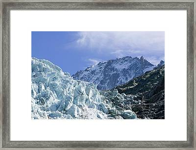 Melting Seracs Framed Print