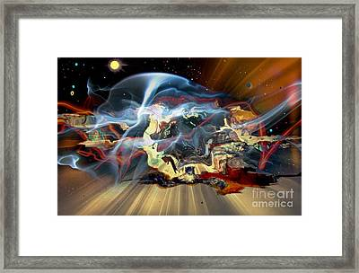 Melting World II Framed Print