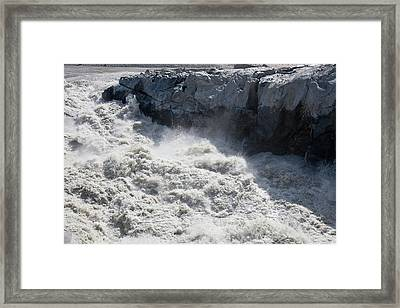 Meltwater From The Russell Glacier Framed Print