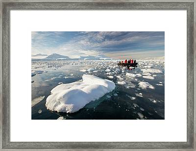 Members Of An Expedition Cruise Framed Print
