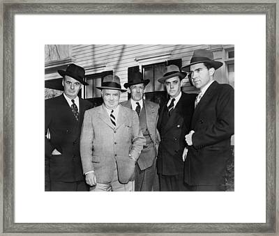 Members Of The House Un-american Framed Print by Everett