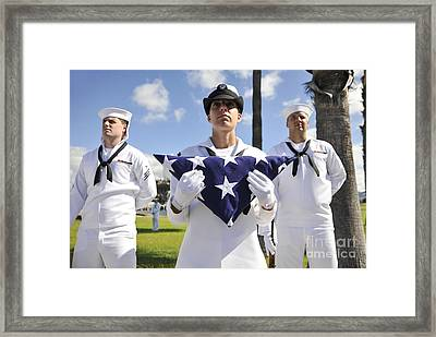 Members Of The Joint Base Pearl Framed Print
