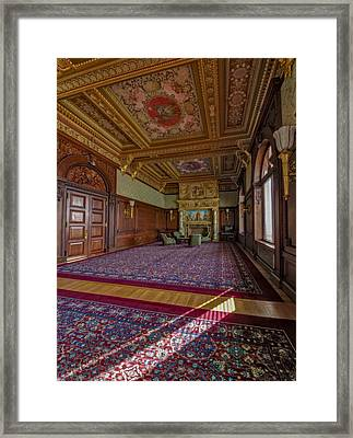 Members Room Library Of Congress II Framed Print by Susan Candelario