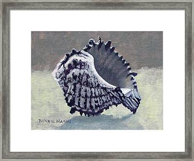 Memento II - Sea Treasure Framed Print by Bonnie Mason