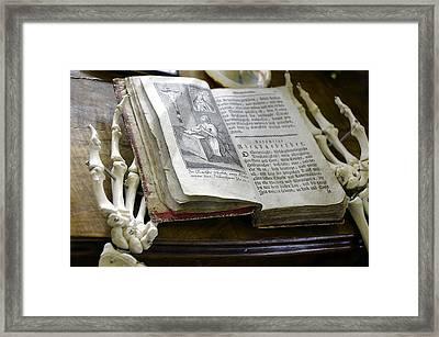 Memento Mori Framed Print