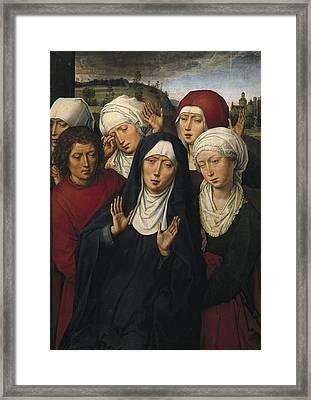 Memling, Hans 1433-1494. The Weeping Framed Print by Everett