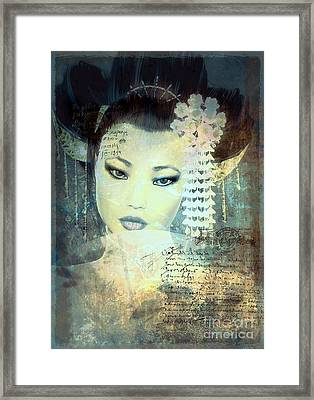 Memoirs Framed Print by Shanina Conway