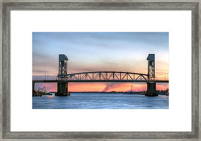 Memorial Bridge Framed Print