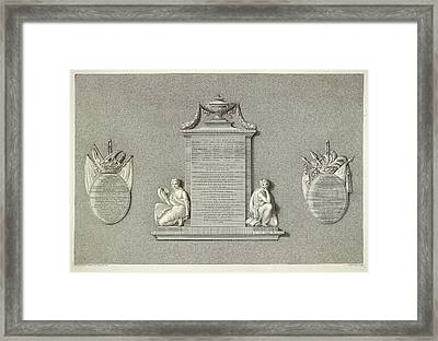 Memorial Framed Print by British Library