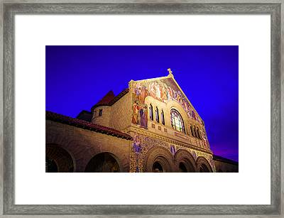 Memorial Church Stanford University Framed Print by Scott McGuire