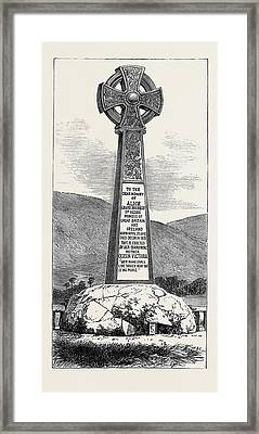 Memorial Cross Of Princess Alice At Balmoral 1880 Framed Print by English School