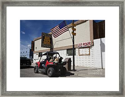 Memorial Day In Montana Framed Print